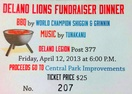 Delano Lions hosting fundraiser for Central Park improvements